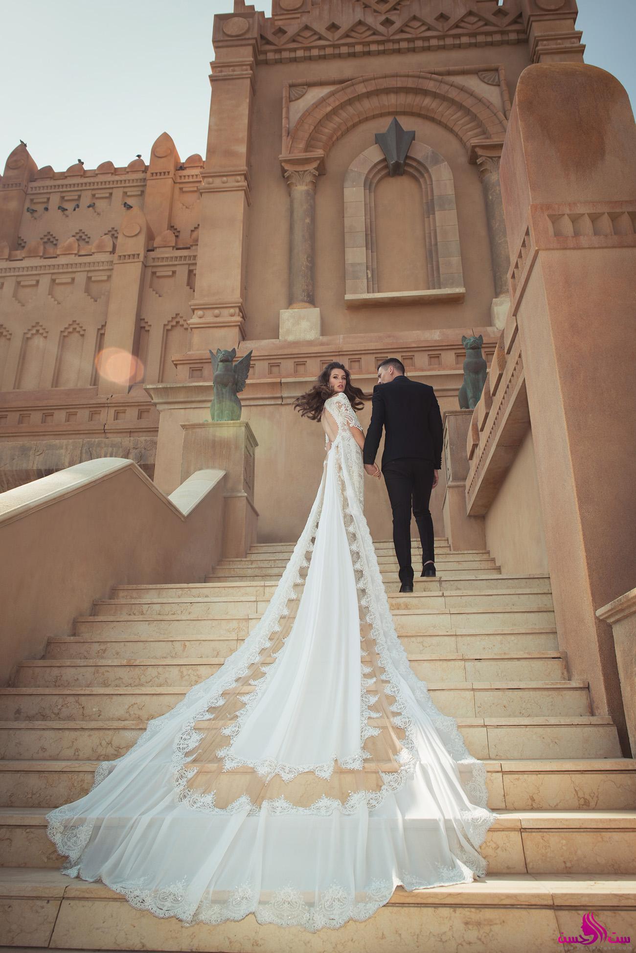 صور احدث فساتين الزفاف 2019 , اروع فساتين زفاف لعام 2019