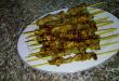 صور طريقة شوي اللحم على الجمر , شوى الكباب