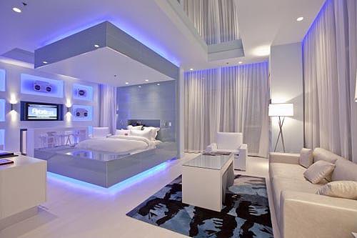 صوره غرف نوم غريبة , تصاميم عجيبة لغرف النوم