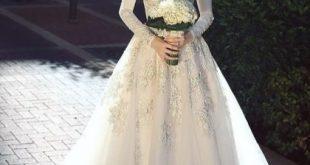 صوره فستان زفاف 2018 , فساتين زفاف حلوه 2018