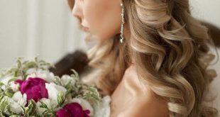 تسريحات شعر للعروس 2020 , اجمل قصات العروس روعه