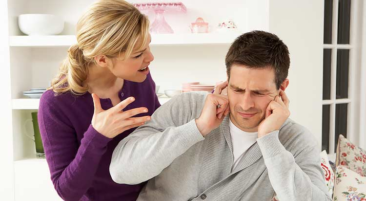 نتيجة بحث الصور عن مشاكل الزوجة مع الزوج