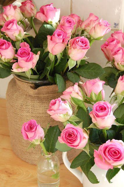 بالصور ورود الصباح , احلى باقات زهور للصباح على الفيسبوك 4358 4