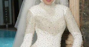 بالصور صور فستان زفاف , اروع موديلات فساتين زفاف محجبات 2019 4360 10 310x165