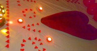 صوره تزيين غرفة النوم لليلة رومانسية , افكار روعة تزين اوضة النوم