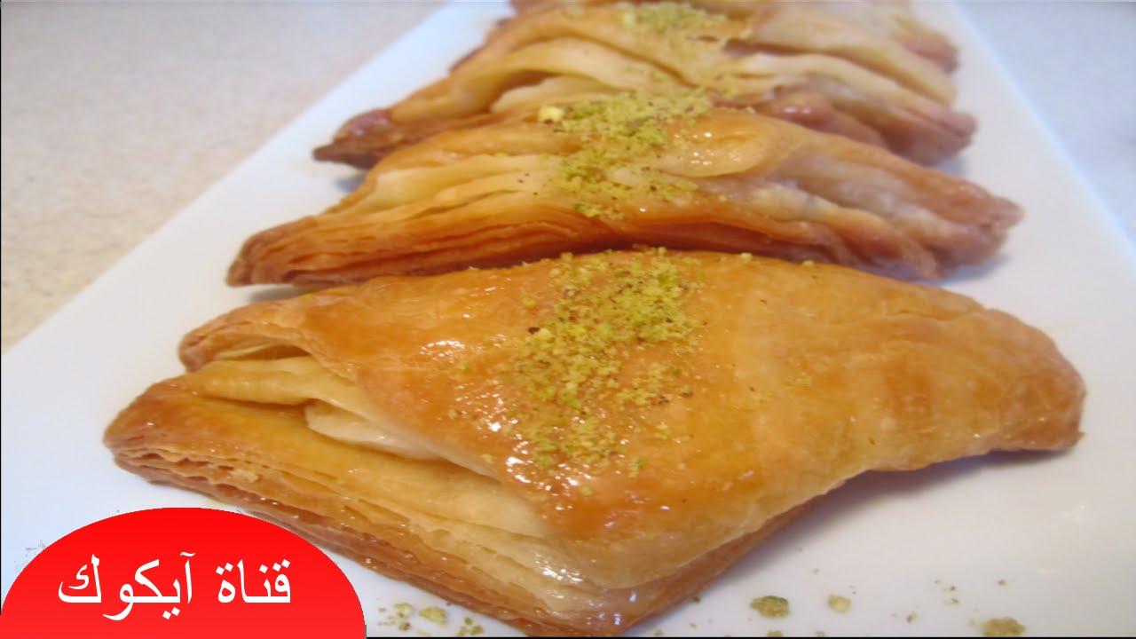 بالصور طريقة عمل حلويات تركية بالصور , وصفات سهلة لعمل حلوي تركي 4628 4