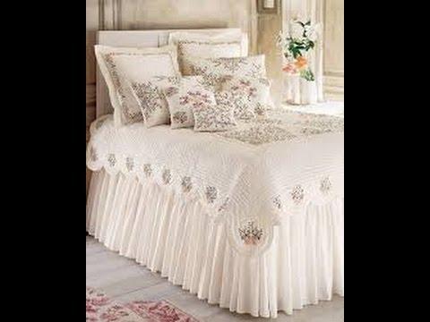 صوره طريقة عمل مفرش سرير ستان , طريقه عمل مفارش بطريقه سهله