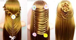 صوره تسريحات شعر بنات , بالصور اجمل تسريحات شعر