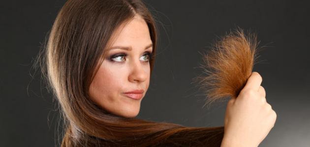 صورة علاج تقصف اطراف الشعر , جفاف الشعر وتقصفه