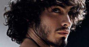 صوره الشعر المجعد للرجال , تنعيم شعر الرجال