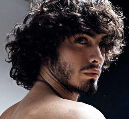صورة الشعر المجعد للرجال , تنعيم شعر الرجال