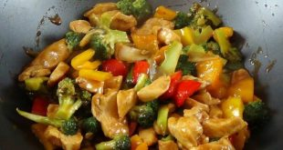 صور دجاج صيني بالخضار , طريقة تحضير دجاج صيني بالخضار