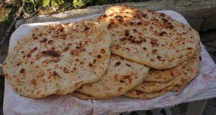 صورة خبز تنور خبز عربي , تحضير عجينة خبز التنور