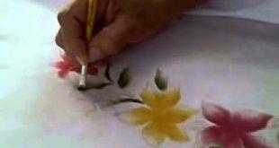 صوره الرسم على الحرير , اتعلم الرسم الجديد