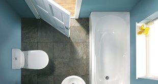 صوره ديكورات حمامات بسيطة , حمامات صغيرة باشكال حديثة