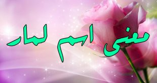 صوره معنى اسم لمار في الاسلام , اعرف معنى اسمك