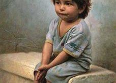 صوره طفل حزين , اجمل ناى حزين