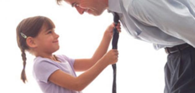 صورة كلام عن الاب , كلمات عن الابوة