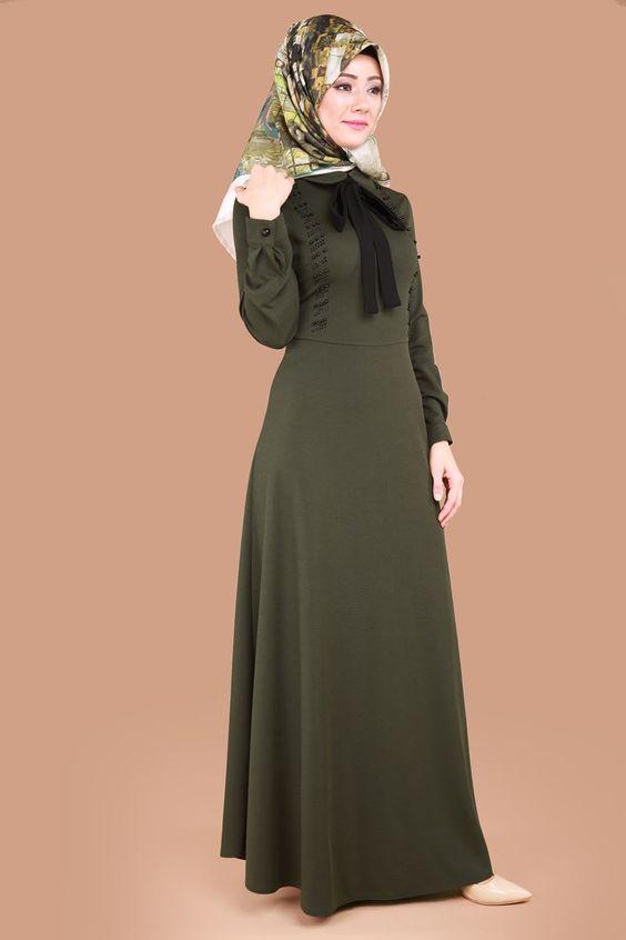 بالصور احدث ملابس المحجبات , اجمل موديلات ملابس محجبة انيقة 2908 4