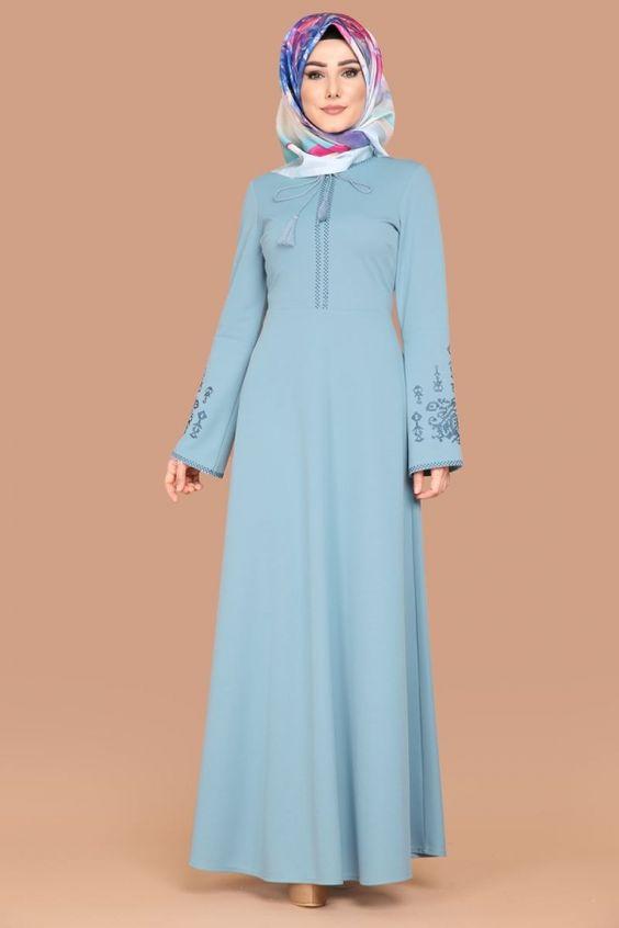 بالصور احدث ملابس المحجبات , اجمل موديلات ملابس محجبة انيقة 2908 6