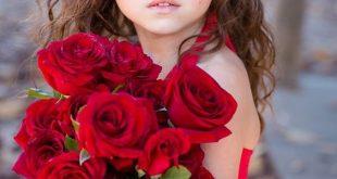 صورة صور خلفيات ورد , احلى خلفية بنات معاها زهور رائعة الجمال