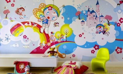 صور رسومات غرف اطفال , اجمل الغرف بالاشكال والصور للاطفال