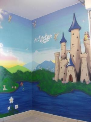 بالصور رسومات غرف اطفال , اجمل الغرف بالاشكال والصور للاطفال 3144 6