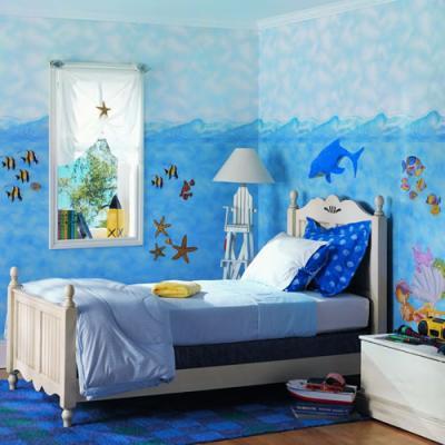 بالصور رسومات غرف اطفال , اجمل الغرف بالاشكال والصور للاطفال 3144 7