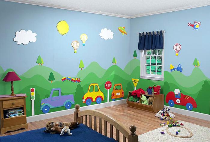 بالصور رسومات غرف اطفال , اجمل الغرف بالاشكال والصور للاطفال 3144 8