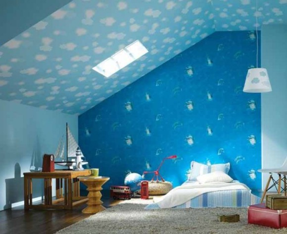 بالصور رسومات غرف اطفال , اجمل الغرف بالاشكال والصور للاطفال 3144 9