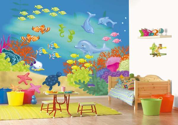 بالصور رسومات غرف اطفال , اجمل الغرف بالاشكال والصور للاطفال 3144