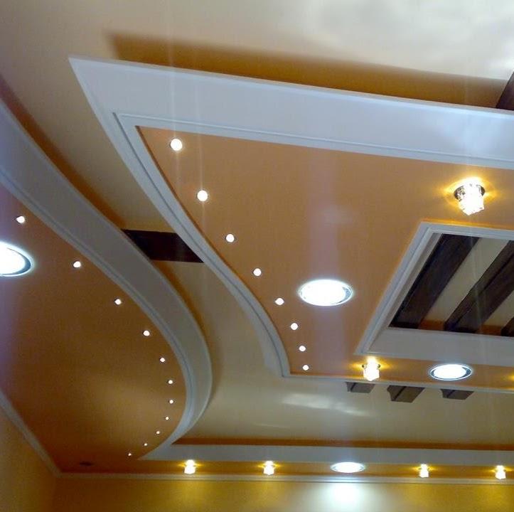 بالصور اسقف معلقة جبس , ديكورات رائعه من الجبس 3189 12