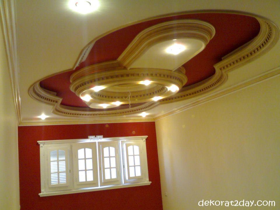 بالصور اسقف معلقة جبس , ديكورات رائعه من الجبس 3189 5