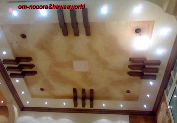 بالصور اسقف معلقة جبس , ديكورات رائعه من الجبس 3189 7
