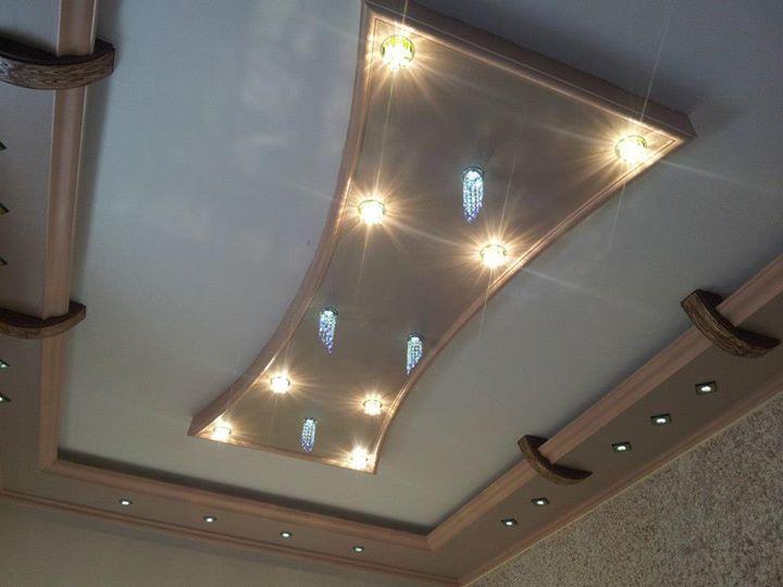 بالصور اسقف معلقة جبس , ديكورات رائعه من الجبس 3189 8