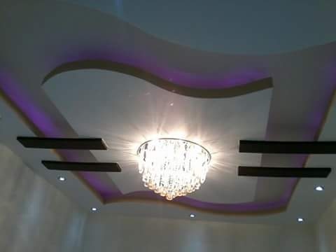 بالصور اسقف معلقة جبس , ديكورات رائعه من الجبس 3189 9