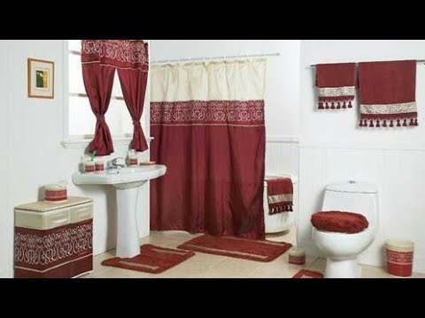 صوره ستائر حماماتو اشكال جميله جدا لستاره لحمام