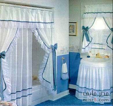 بالصور ستائر حماماتو اشكال جميله جدا لستاره لحمام 3190 10