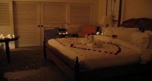 صوره جو رومانسي في غرفة النوم , احلى جو رومانسى ممكن تعمله