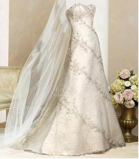 بالصور اجمل ملابس العروس , لبس جميل جدا لكل عروسه 3405 1