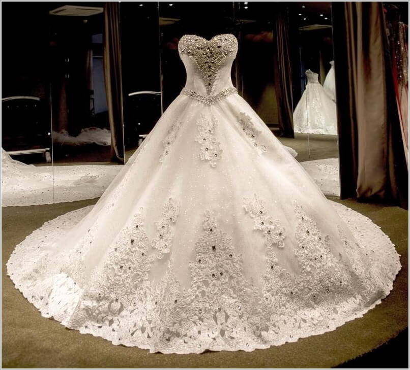 بالصور اجمل ملابس العروس , لبس جميل جدا لكل عروسه 3405 4