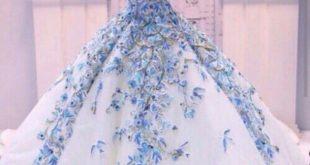 صوره اجمل ملابس العروس , لبس جميل جدا لكل عروسه