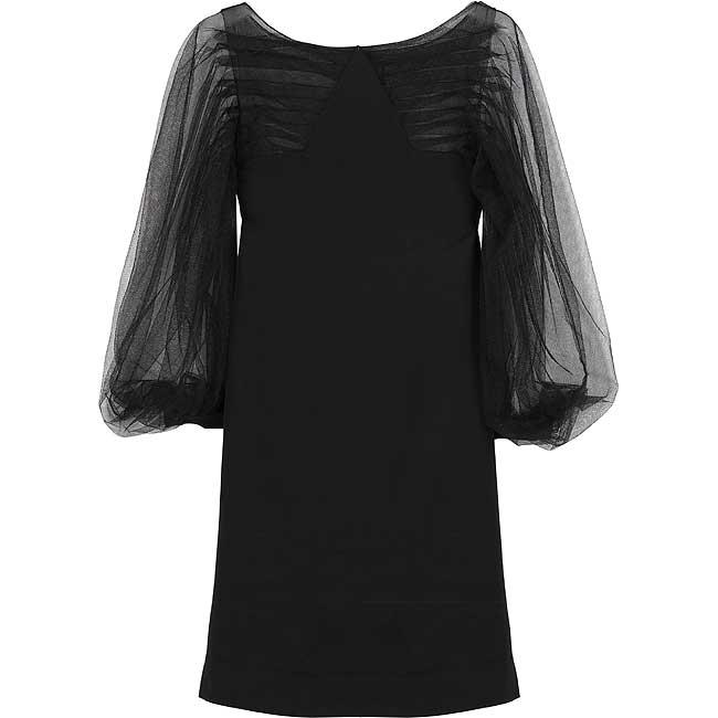 بالصور فساتين سهرة باللون الاسود , صيحه جديده لفستان السهره 3423 4