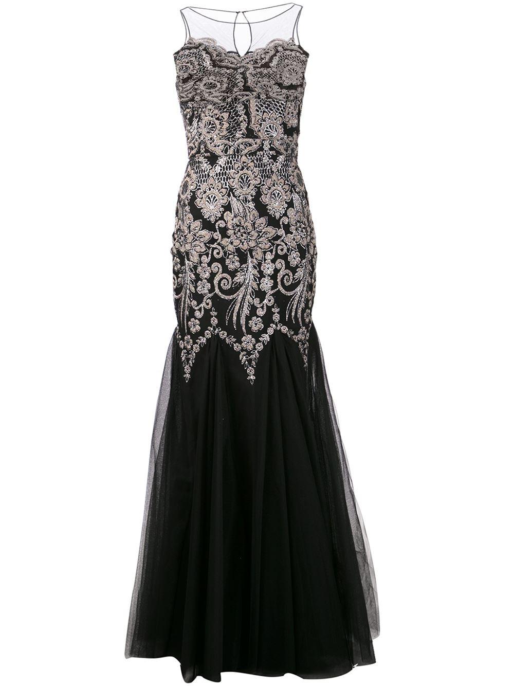 بالصور فساتين سهرة باللون الاسود , صيحه جديده لفستان السهره 3423 5