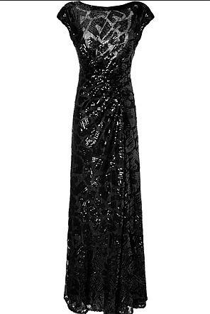 بالصور فساتين سهرة باللون الاسود , صيحه جديده لفستان السهره 3423 8