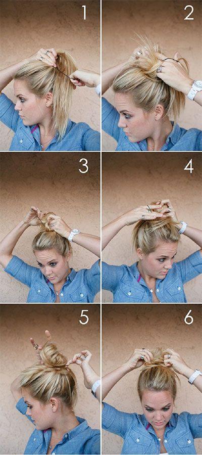 بالصور تسريحات شعر للمناسبات البسيطة بالخطوات , صور تسريحات شعر للبنات 3991 10