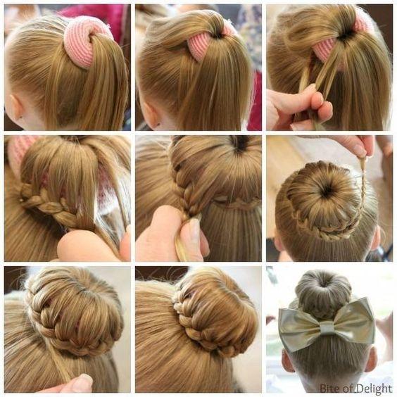 بالصور تسريحات شعر للمناسبات البسيطة بالخطوات , صور تسريحات شعر للبنات 3991 6