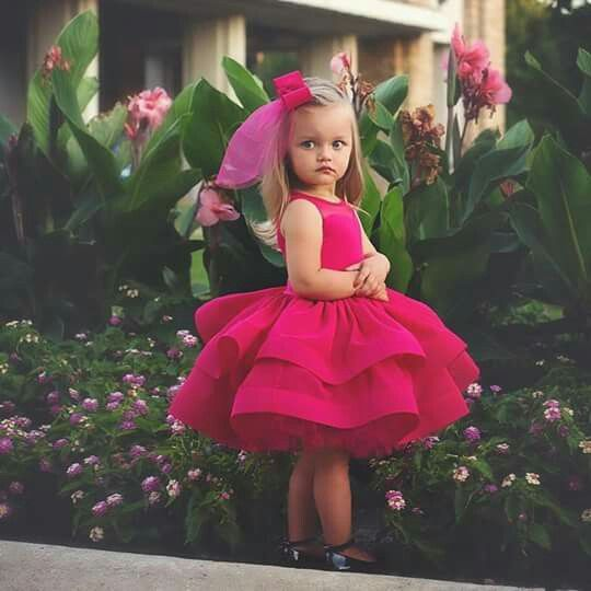 بالصور فساتين 2019 , احلى صور فساتين بناتي صغيرة موضة ٢٠١٨ 3995 7