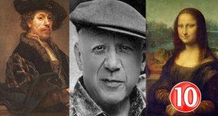صوره اسماء رسامين عالميين , اهم 10 رسامين حول عالم