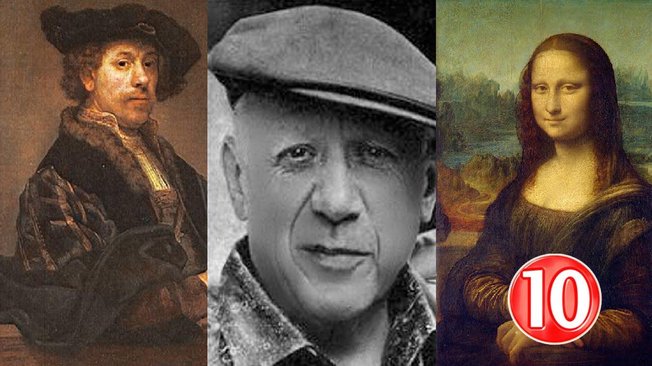 صور اسماء رسامين عالميين , اهم 10 رسامين حول عالم